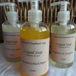 Liquid Soap 250ml with no SLS