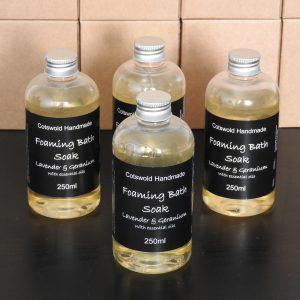 Foaming Bath Soak (no SLS)
